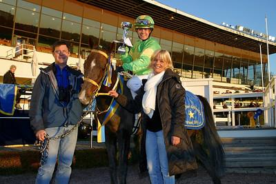 Linda Svensson Krupke och Merveilleux vann Finalen i kat C | Foto: Lars Odin