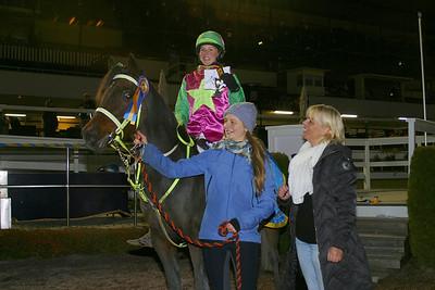 Matilda Hassner och Look Sharp vann consolation i kat D | Foto: Lars Odin