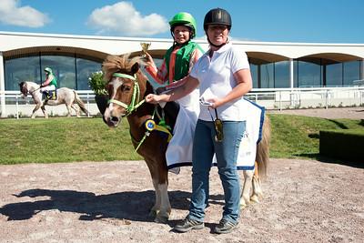 Ponnygalopp Bro Park 160827 Foto: Elina Björklund / Svensk Galopp