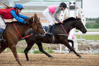 Ponnygalopp Bro Park 170604 Foto: Elina Björklund / Svensk Galopp