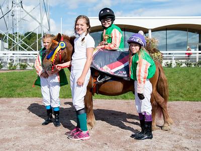 Ponnygalopp Bro Park 170910 Foto: Elina Björklund / Svensk Galopp