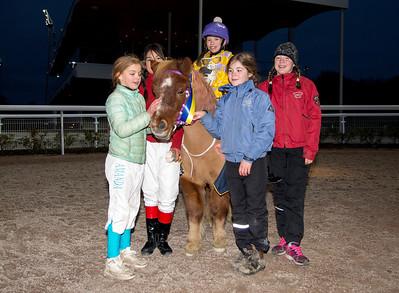 Ponnygalopp Bro Park 171119 Foto: Elina Björklund / Svensk Galopp