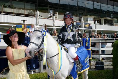 Skandinavisk Mästare i kat B Rathosey Too och Sandra Lindblom Foto: Lars Odin