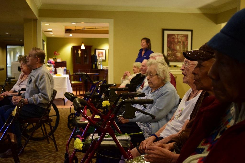 . Seniors at the American House Oakland Senior Living Facility in Auburn Hills on Monday, May 15, 2017.