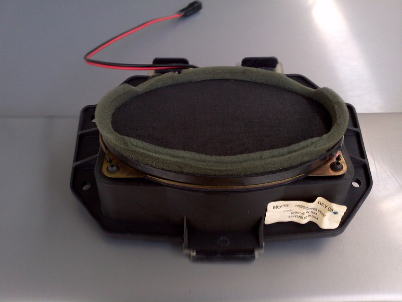 Stock speaker and mounting pod
