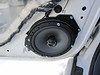 "Driver side - Aftermarket speaker and speaker adapter bracket  from  <a href=""http://www.car-speaker-adapters.com/items.php?id=SAK055""> Car-Speaker-Adapters.com</a>  installed"