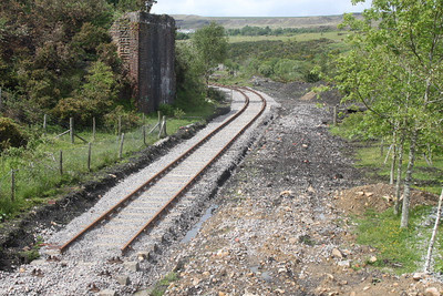 The end of the line at Big Pit Station on 28.05.11.