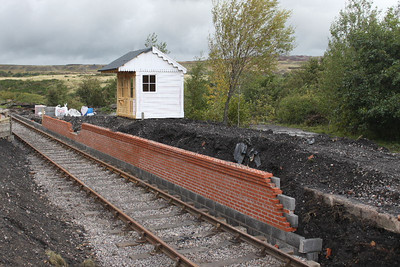 Unfinished Station at Big Pit on 23.09.11.
