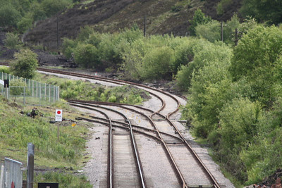 Line Branching off for the Big Pit Line on 28.05.11.