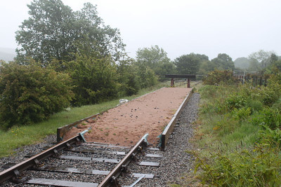 Run off Sand Trap at end of present line at High Level Station on 28.05.11.