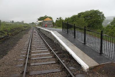 Platform at Blaenavon High Level on 28.05.10.