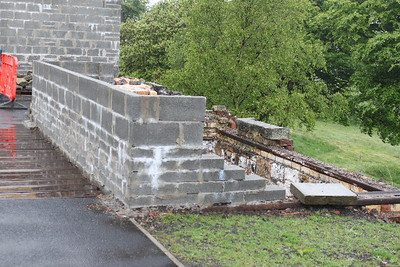 Base of old Signal Box on 29.05.10.