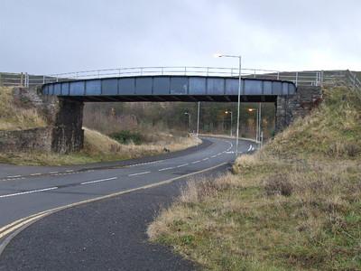 New Pit Road Bridge on 01.12.07.