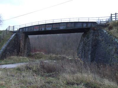 Old Pit Road Bridge on 01.12.07.