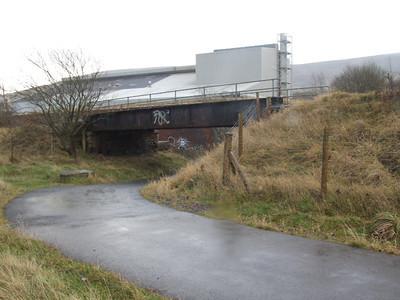 Cycletrack Low Bridge on 01.12.07.