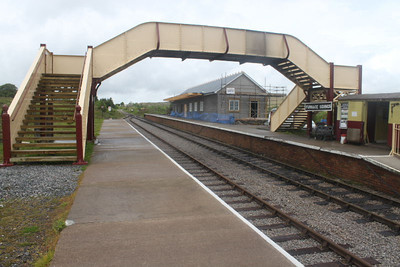 Complete Footbridge in place at Furnace Sidings on 28.05.11.