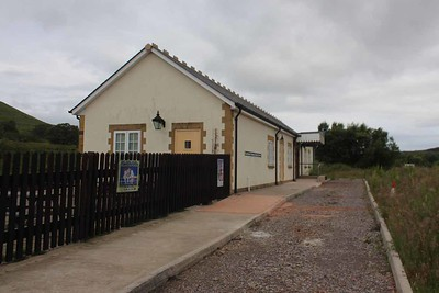 Furnace Sidings Station Building on 26.06.16.