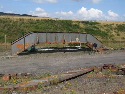 Footbridge for Furnace Sidings on 26.07.08.