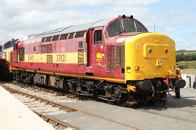 37421 at Furnace Sidings on 24.07.09. Has now left the Railway.