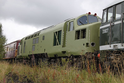 37216 in primer at Furnace sidings on 23.09.11.