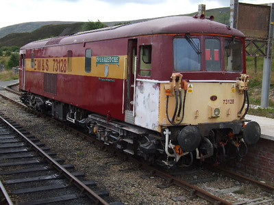 73128 at Furnace Sidings on 25.07.09.