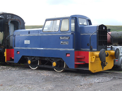 1 - Rolls Royce Sentinel 0-4-0DM Pantag on 27.07.07.