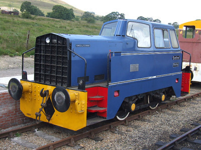 1 - Rolls Royce Sentinel 0-4-0DM Panteg on 26.07.08