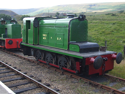 14 - Hudswell Clarke 0-6-0DM on 26.07.08