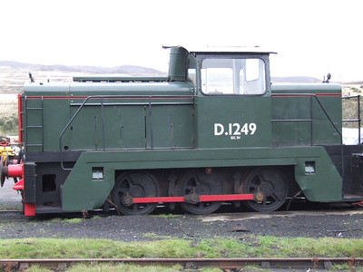 104 / D1249 - English Electric 0-6-0DH Llanwern on 01.12.06.