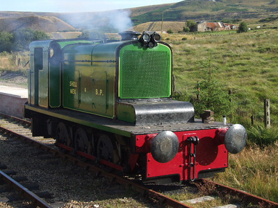 14 - Hudswell Clarke 0-6-0DM on 26.07.08.
