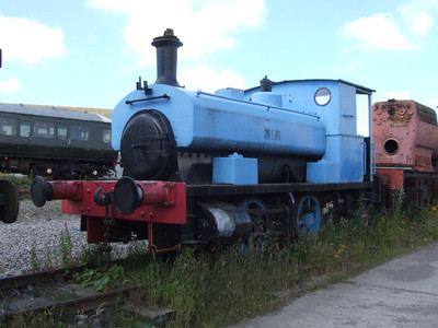 "Barclay 0-4-0ST ""Harry"" on 26.07.08."