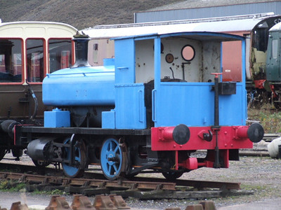 "Barclay 0-4-0ST ""Harry""  on 01.12.06."
