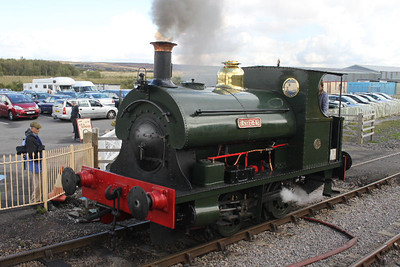 Whitehead visiting PBR on 17.09.11 for Steam Gala.