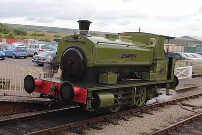 """Andrew Barclay 0-4-0 """"Rosyth No.1"""" at Furnace Sidings on 26.06.16."""