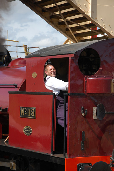 Dave taking a break at Furnace Sidings