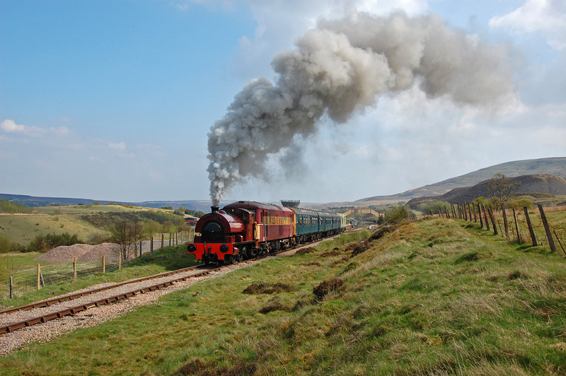 A vigorous departure from Furnace Sidings