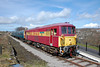 First train of the season at Blaenavon High Level