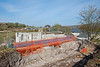 Work has been started on the southern abutment on the Varteg Road Bridge
