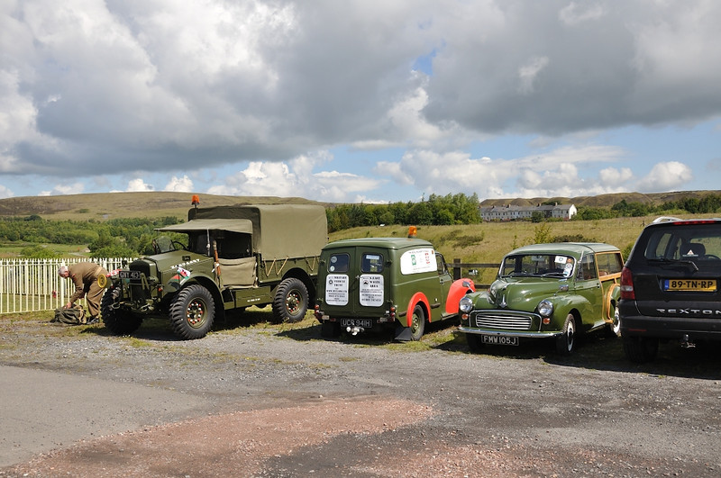 Morris Minors go to war