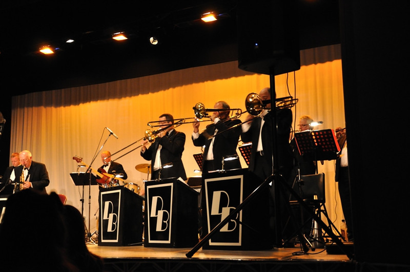 The Dave Berry Big Band at the Workman's Hall