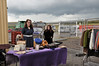 Vintage vision came up on Sunday to show off some items, and demonstrate how useful a fur coat can be at Blaenavon!