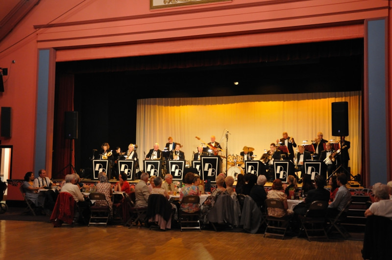 The Dave Berry Big Band at the Workman's Hall, a brilliant night