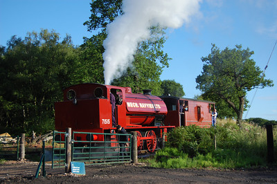 71515 at the Foxfield Railway