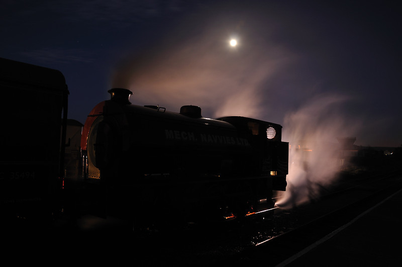 Austerity by moonlight