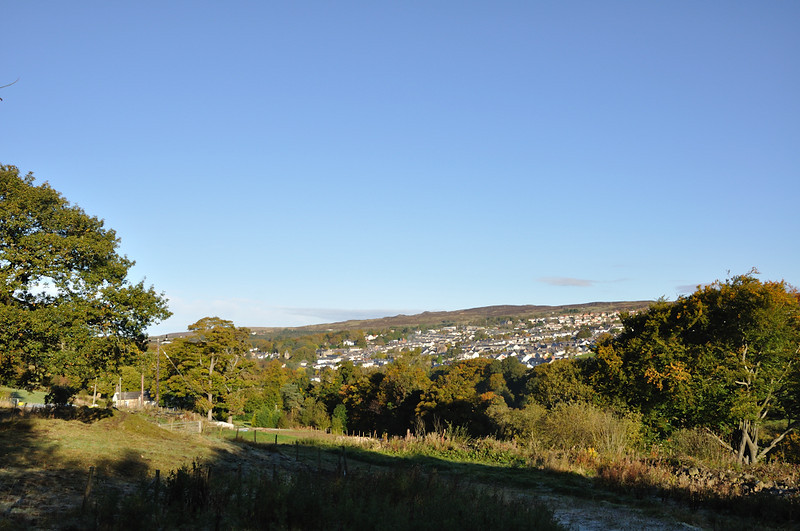 Blaenavon from the path
