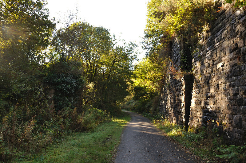 This is where the incline from the Varteg Hill collieries to the GWR branch line Blaenavon Low Level crossed over.