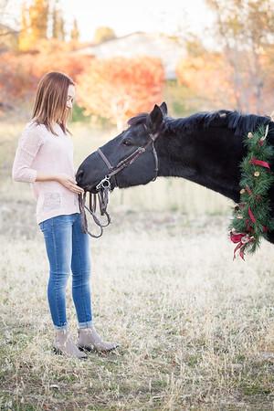 Rachel & Sam Holiday Portraits