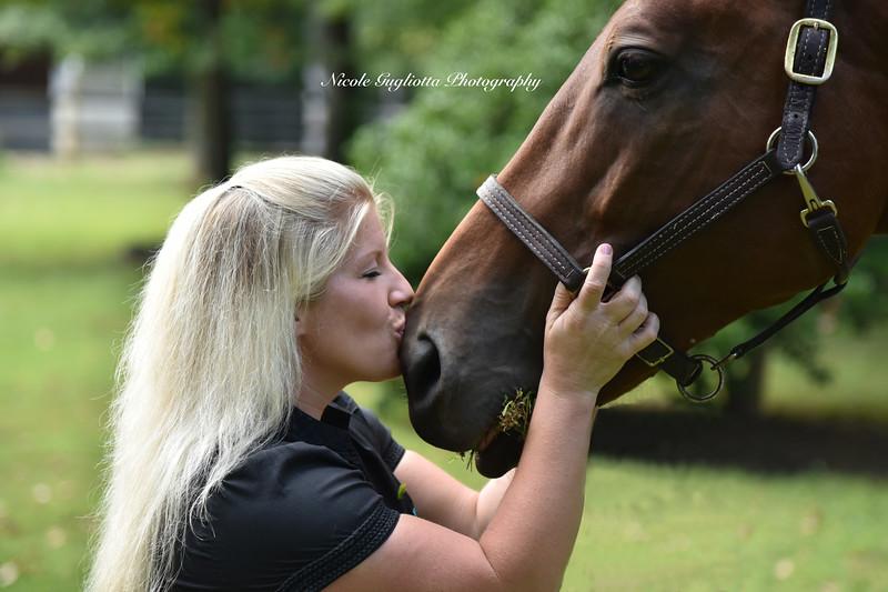 Horsey Kisses!