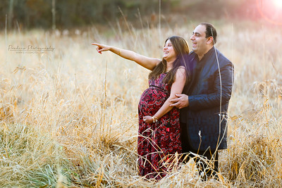 Pooja-Amit Maternity photo shoot