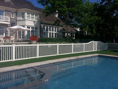 198 - 502801 - Greenwich CT - Modified Yorktown Picket Fence